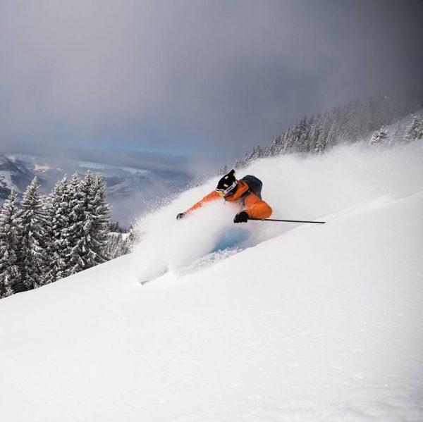 Freeriden in den Kitzbühler Alpen